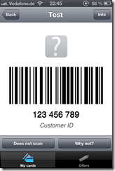 Stocard_Testkarte