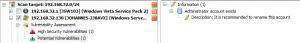 Windows Potential Vulnerabilities
